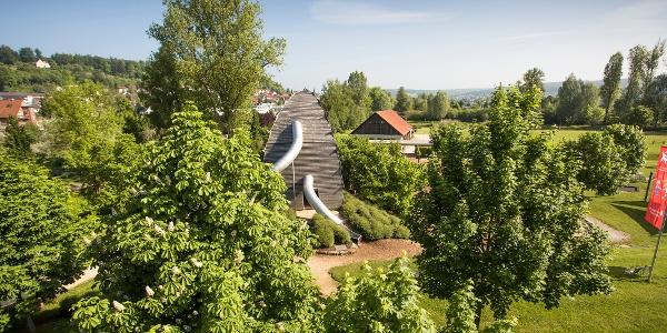 Brenzpark Spielplatz - das Wedelungeheuer