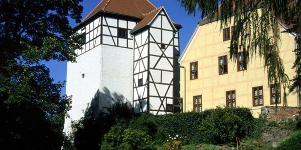 Die Burg Düben.