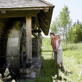 Paar an der Mühle