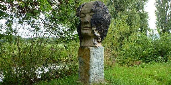"""Skulpturenweg, """"Kopf"""""""