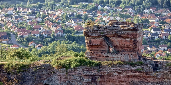 Burgruine Drachfels bei Busenberg