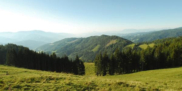 Klippitztörl - Blick ins Tal