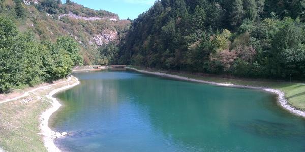Il laghetto di Bior.