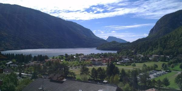 Panorama da via Dolomiti.