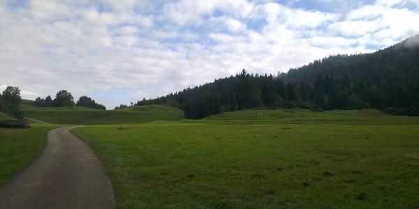 Punto panoramico verso Maso Toscana.