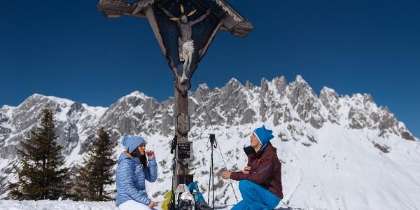 Gipfelkreuz Hochkeil