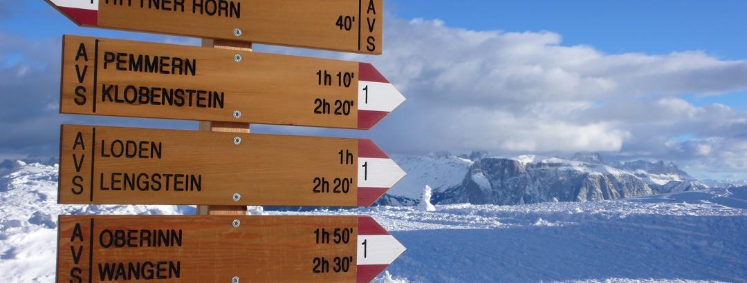 Winter in Südtirols Süden