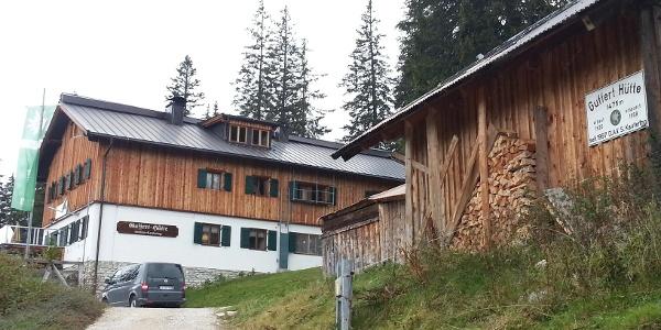 ein lohnendes Ziel von der Gufferhütte für Kletterer und Wanderer