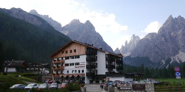 Das Hotel Dolomitenhof