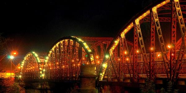 Carl-Alexander-Brücke zum Brückenfest