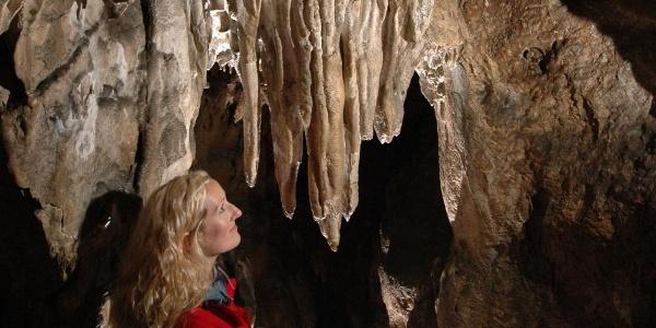 Hermannshöhle Spitzenvorhang