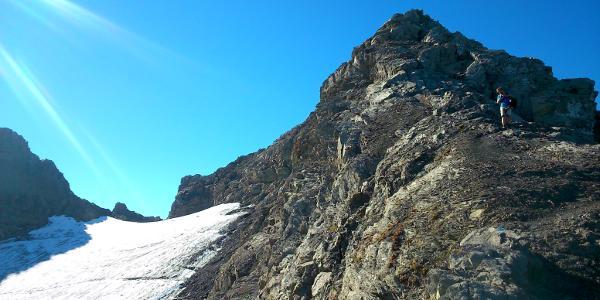 Gipfelgrat - nur für Geübte!