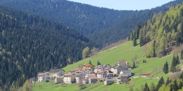 Il villaggio cimbro di Tézzeli