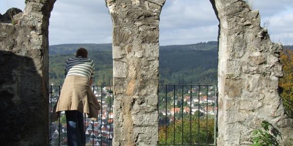 Blick vom Bilsteinturm