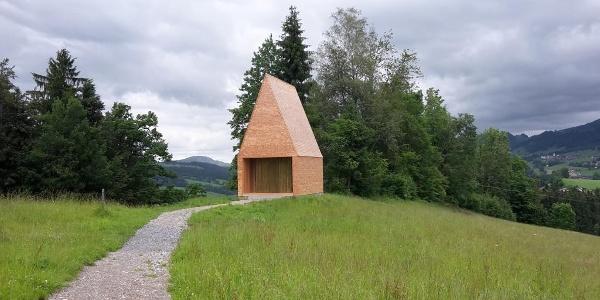 Kapelle Salgenreute Krumbach Außenansicht
