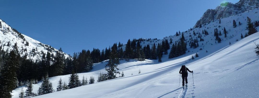 Aufstieg zur Krinnenspitze