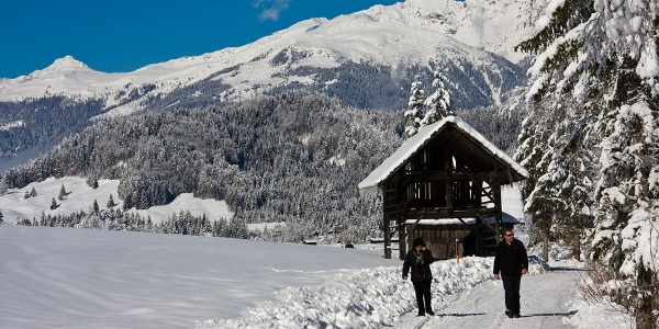 Knirschender Schnee - herrlich