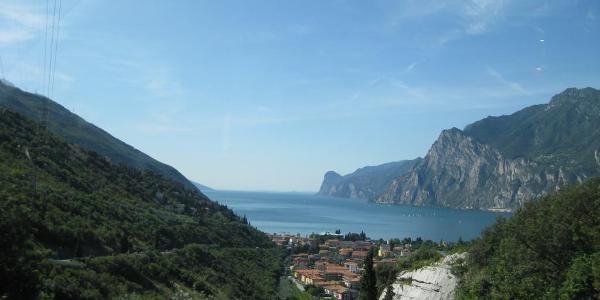 Anfahrt nach Riva