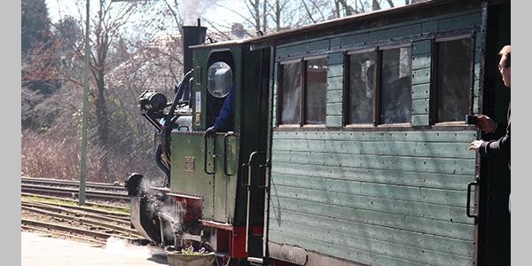 Historischer Zug vom Feld- und Kleinbahnmuseum