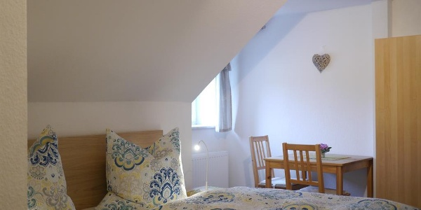 Schlafzimmer Fewo Bergblick