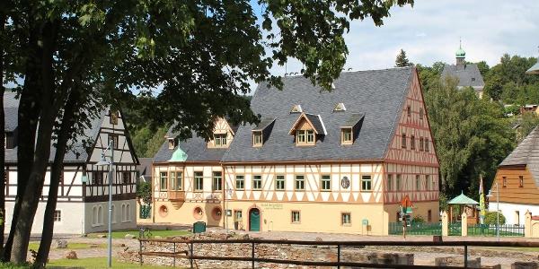 Hotel Saigerhütte in Olbernhau Mitten im Erzgebirg