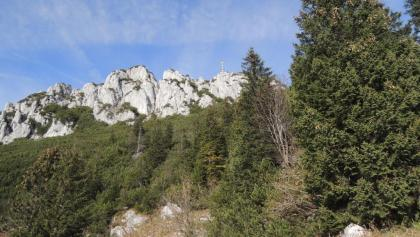 Kampenwandgipfel mit Chiemgau-Kreuz
