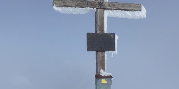 Gipfelkreuz am Hornfeldspitz