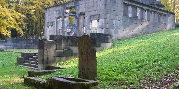 Mausoleum Fa. Weil jüdischer Friedhof Waibstadt