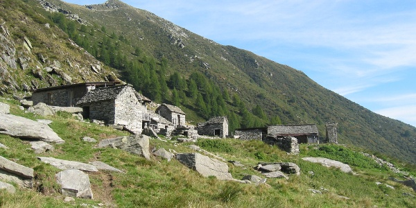 Mountain hut Alpe Nimi