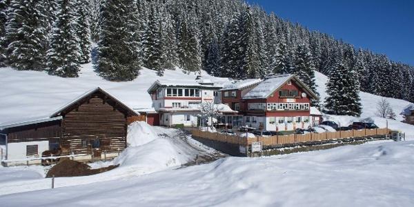 Alpenhotel Küren Winterbild