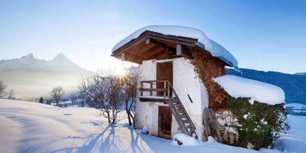 Winterwandern in Bischofswiesen
