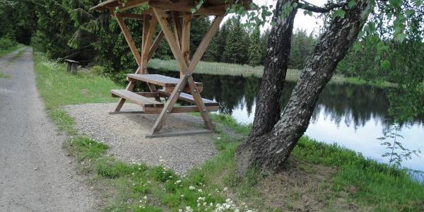 Lehmheider Teich bei Rübenau