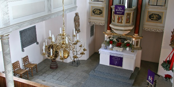 Altar Kirche Jößnitz