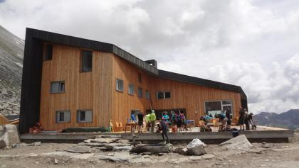 Die neue Edelrauthütte wurde 2016 eröfnet.