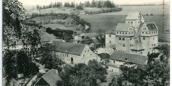 Historische Ansicht von 1906 - Kloster Mildenfurth - Wünschendorf