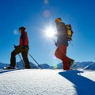 Schneeschuhlaufen Prätschalp