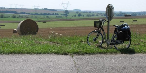 Mijn oma fietsie