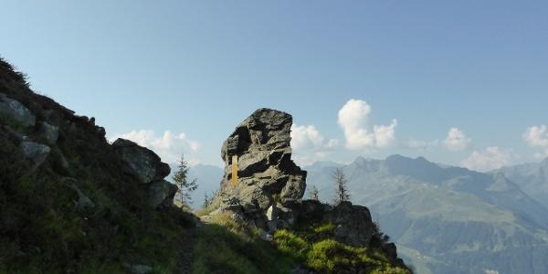 Wormser Törl, Eingang ins Europaschutzgebiet Verwall
