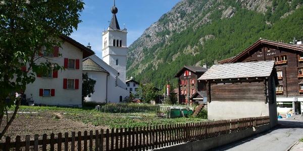 Dorfzentrum Täsch