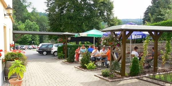 Landgasthof Erbgericht Biergarten