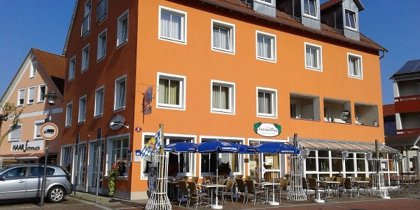 Hotel-Cafe-Rathaus in Bad Abbach