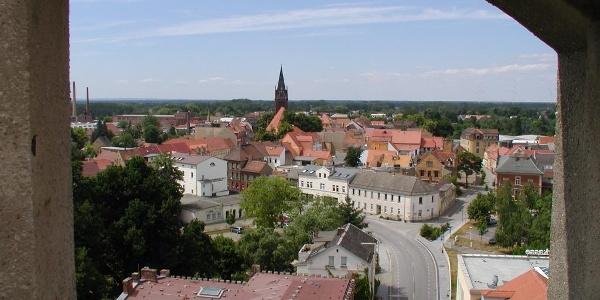 Blick vom Lubwartturm in Bad Liebenwerda