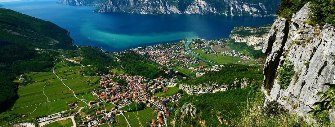 View from Monte Corno (WW1 site)