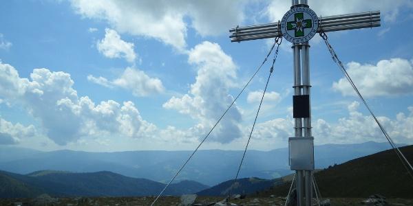 Gipfelkreuz am Speikkogel