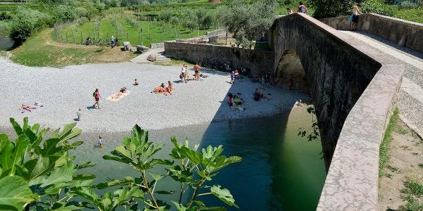 """The """"roman bridge"""" in Ceniga"""