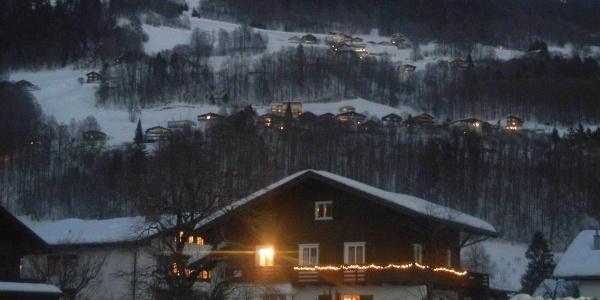 Winteransicht mit Hochjoch im Hintergrund