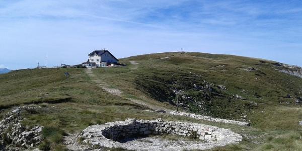 Die Berghütte Damiano Chiesa - Monte Altissimo