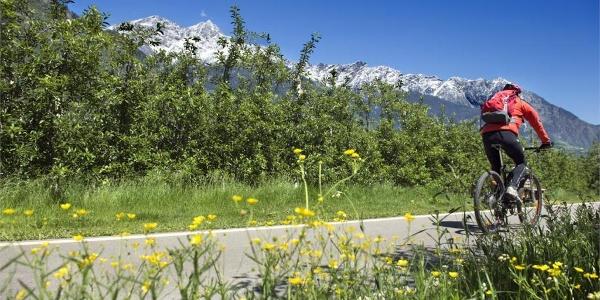 Etschradweg Via Claudia Augusta - Etappe Rabland - Reschensee
