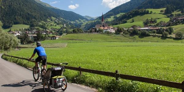 Radtour Rabland - Meran - St. Leonhard im Passeiertal