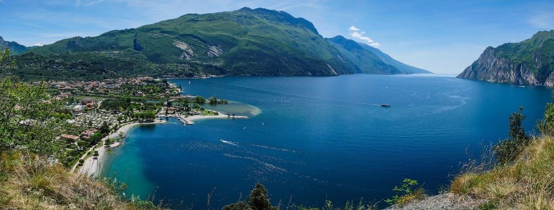 View from Monte Brione (Doss Casina and Monte Altissimo)